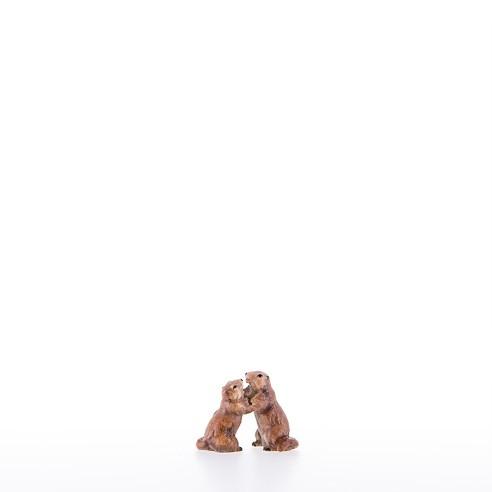 Junges Murmeltierpaar Nr . 23053-B