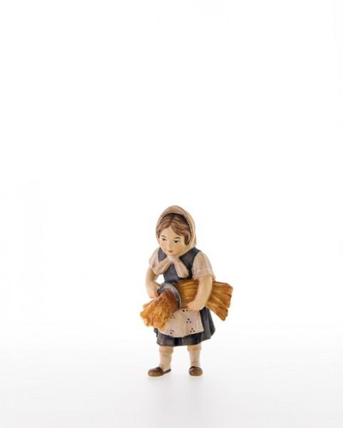 Maedchen mit Getreidebuendel und Sichel Nr. 209