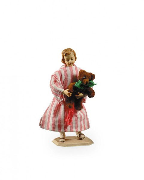 Maedchen mit Teddybaer Nr. 511