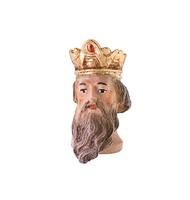 Koenig kniend - Kopf mit Krone u.Bart Nr. 05K