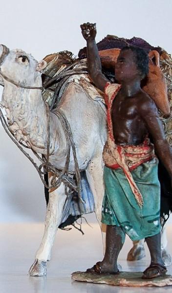 Kamel stehend ohne Treiber Extra