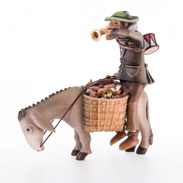 Der Spielzeughausierer mit Esel Nr. 56