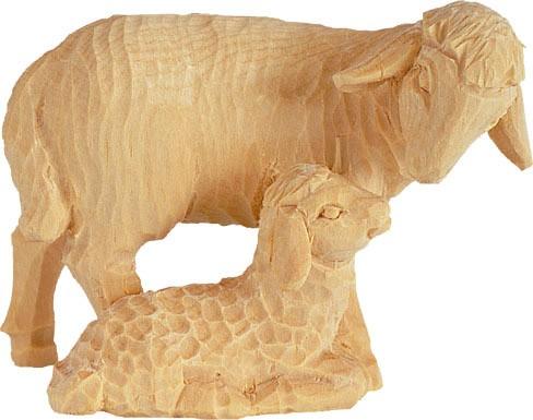 Schaf mit Lamm Nr. 4258