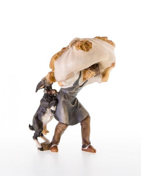 Heutraeger mit Ziege Nr. 88