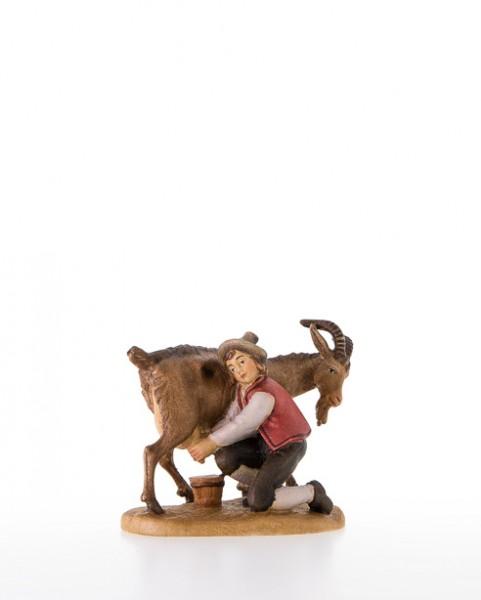 Bub mit Ziege (v. der Seite melkend) Nr. 65