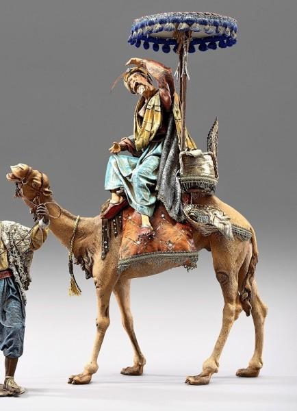 König auf Dromedar mit Baldakin Heide Nr. 234121A