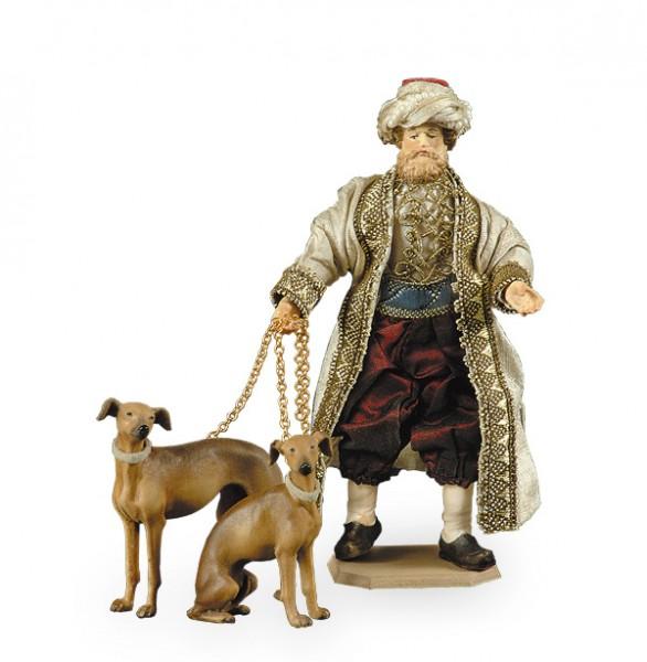Diener mit Windhunde Nr. 551