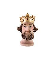 Koenig - Kopf mit Krone und Bart Nr. 06K