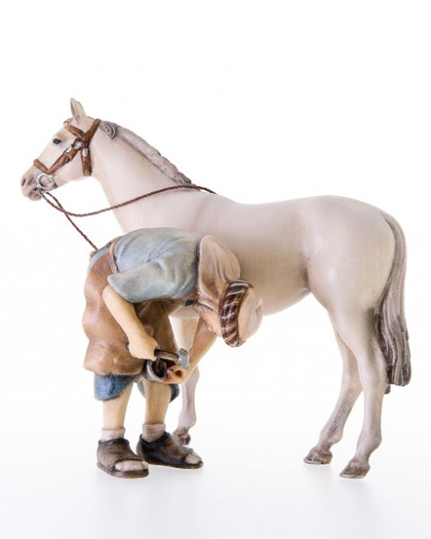 Orientalscher Schmied mit Pferd Nr. 239