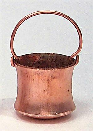 Kupferkübel (Handarbeit)