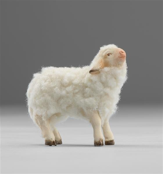 Lamm mit Wolle Heide Nr. W3610L