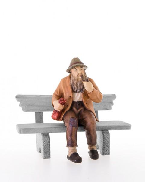 Sitzenser Mann ohne Bank Nr. 12B