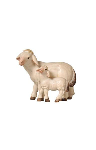 PE Schaf mit Lamm stehend Nr. 279