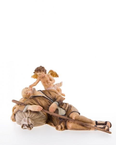 Schlafender Hirt mit Engelchen Nr. 235