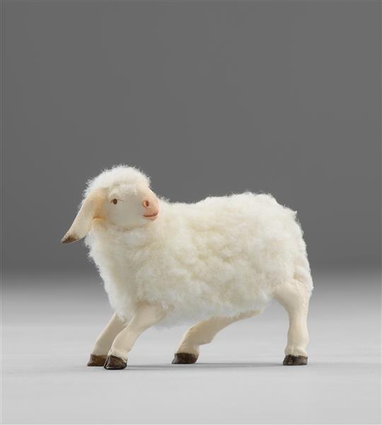Lamm mit Wolle Heide Nr. W3610M