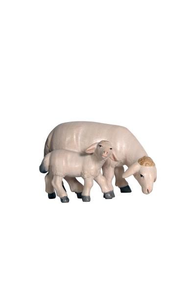 PE Schaf äsend mit Lamm Nr. 274