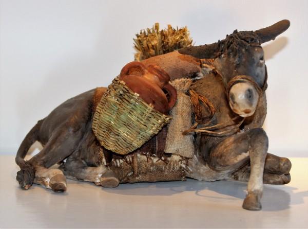 Esel liegend von ANGELA TRIPI