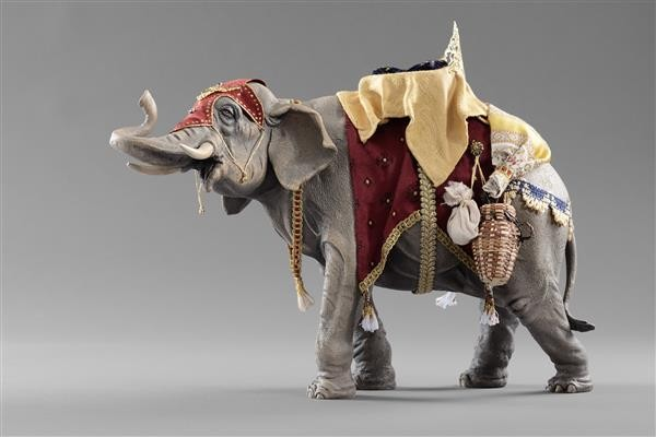 Elefant bepackt HANNAH Heide Nr. 136920
