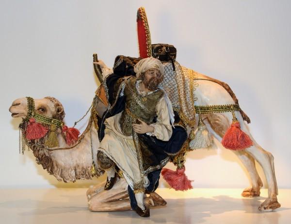 König von Kamel absteigend Particolare