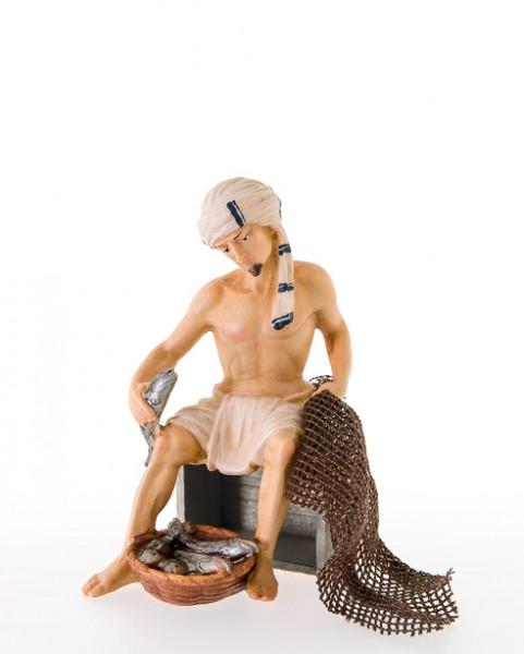 Fischer sitzend (ohne Holzkiste) Nr. 230