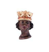Koenig Mohr - Kopf mit Krone Nr. 07K