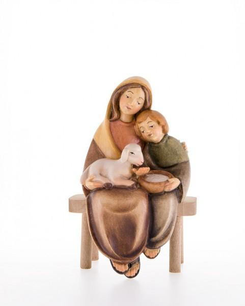 Mutter mit Kind und Lamm Nr. 10