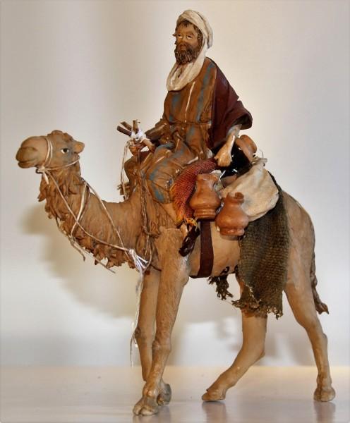 Kamel stehend mit Reiter