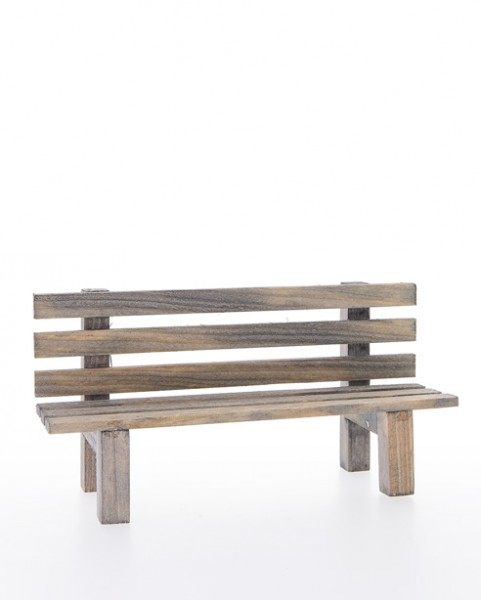 Holzbank mit Lehne Nr. 937