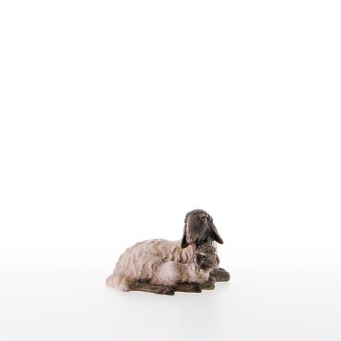 Schwarzkoepfiges Schaf mit Lamm Nr. 21207-AS